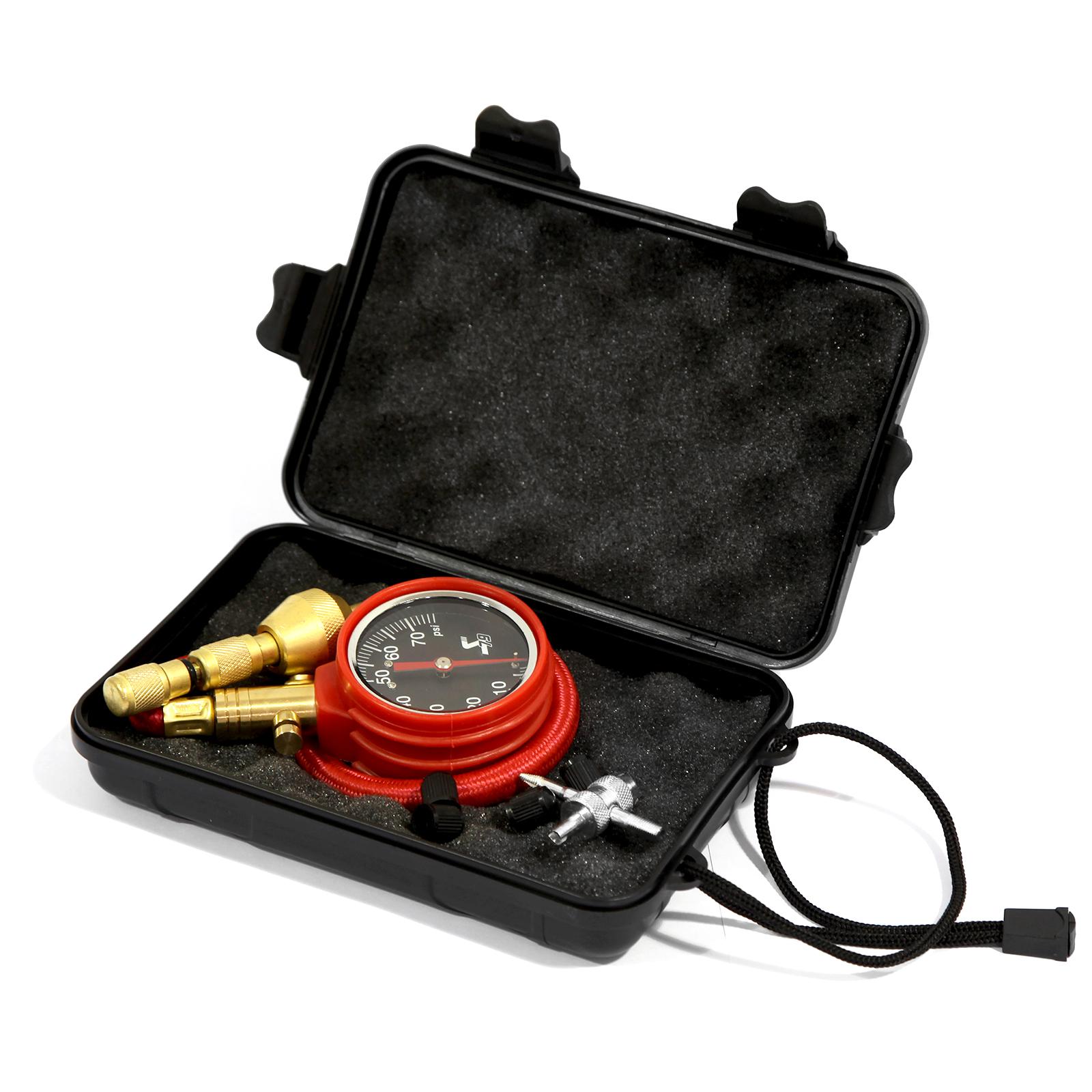 Rapid Tire Air Deflator Kit 4WD 0-75psi Pressure Gauge Valve Tool