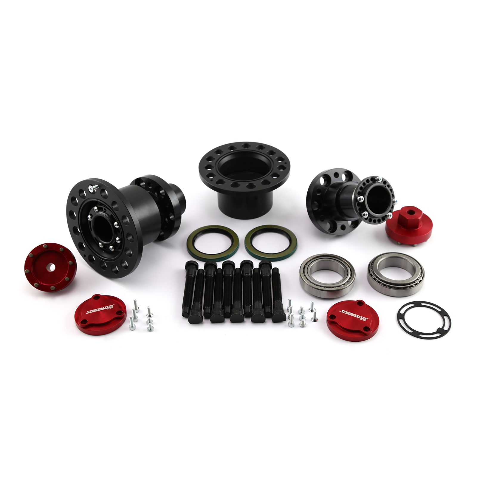 "Speedmaster 9"" Ford Floater Kit Without Axle Drive Plates 3"" Tube"