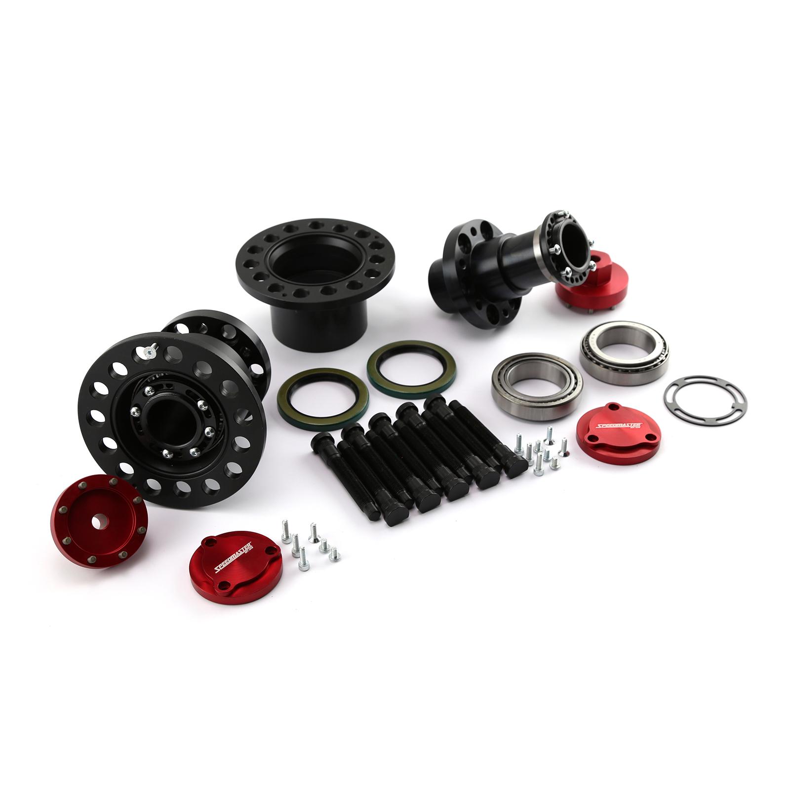 "Speedmaster® PCE572.1004 Ford 9"" Complete Weld on Floater Kit Assembly for 3"" Tube"