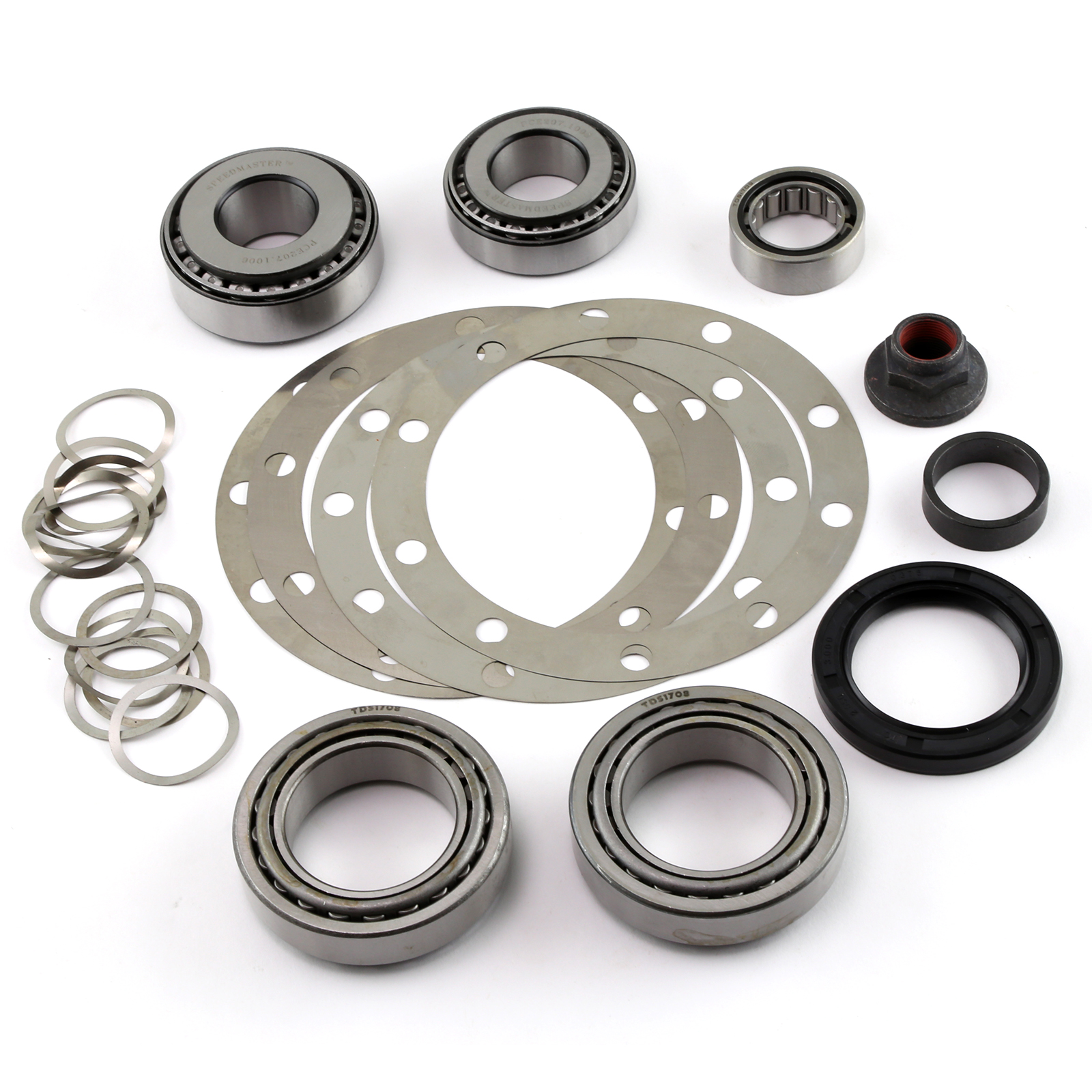 """Speedmaster® PCE593.1001 9"""" Ford Rear End Ring and Pinion Bearing Installation Rebuild Kit 3.06"""" Carrier"""