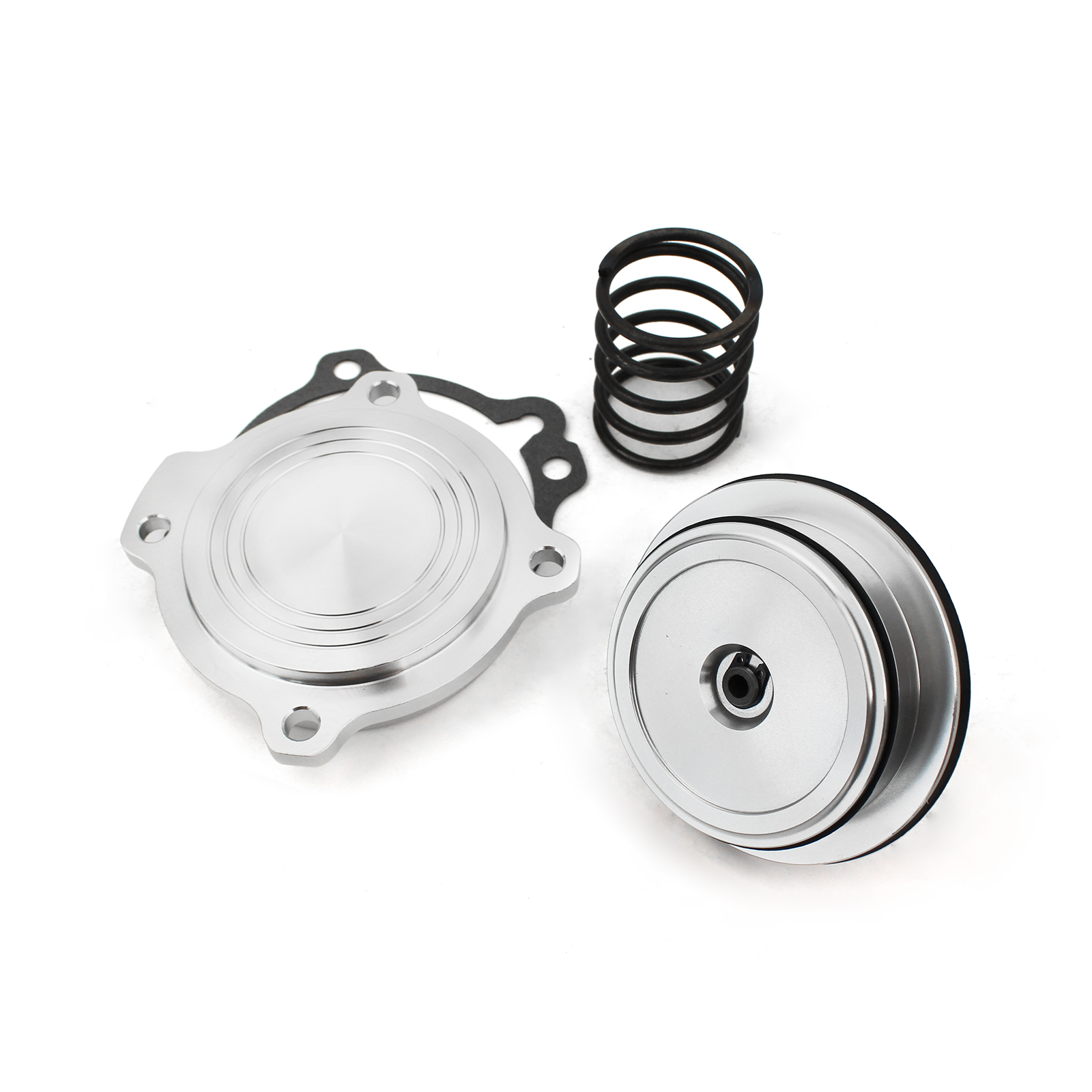 Ford C4 C5 Automatic Transmission Billet C Ratio Servo Piston Kit [Silver]