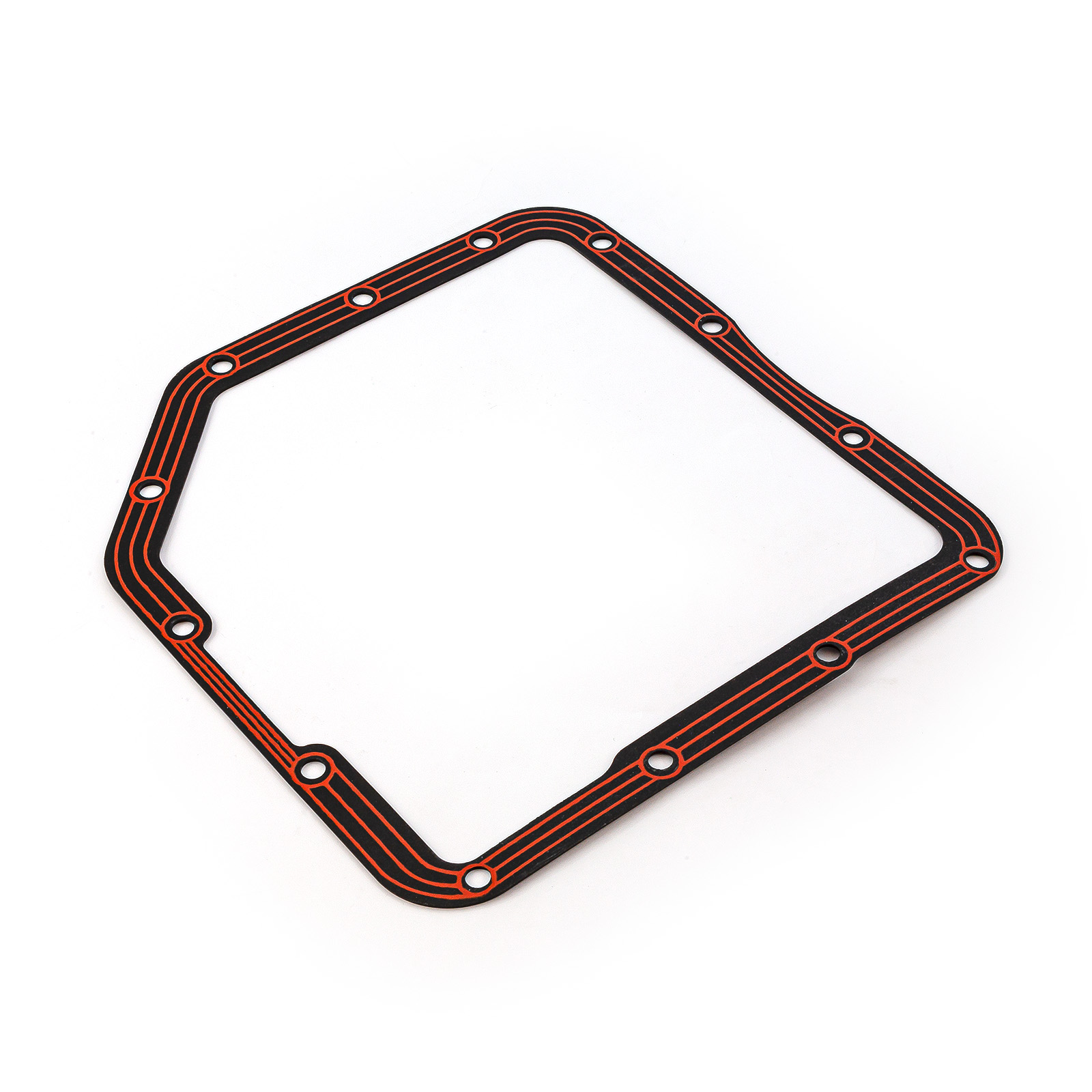 TH350 Turbo 350 Transmission Pan Gasket Steel with Rubber
