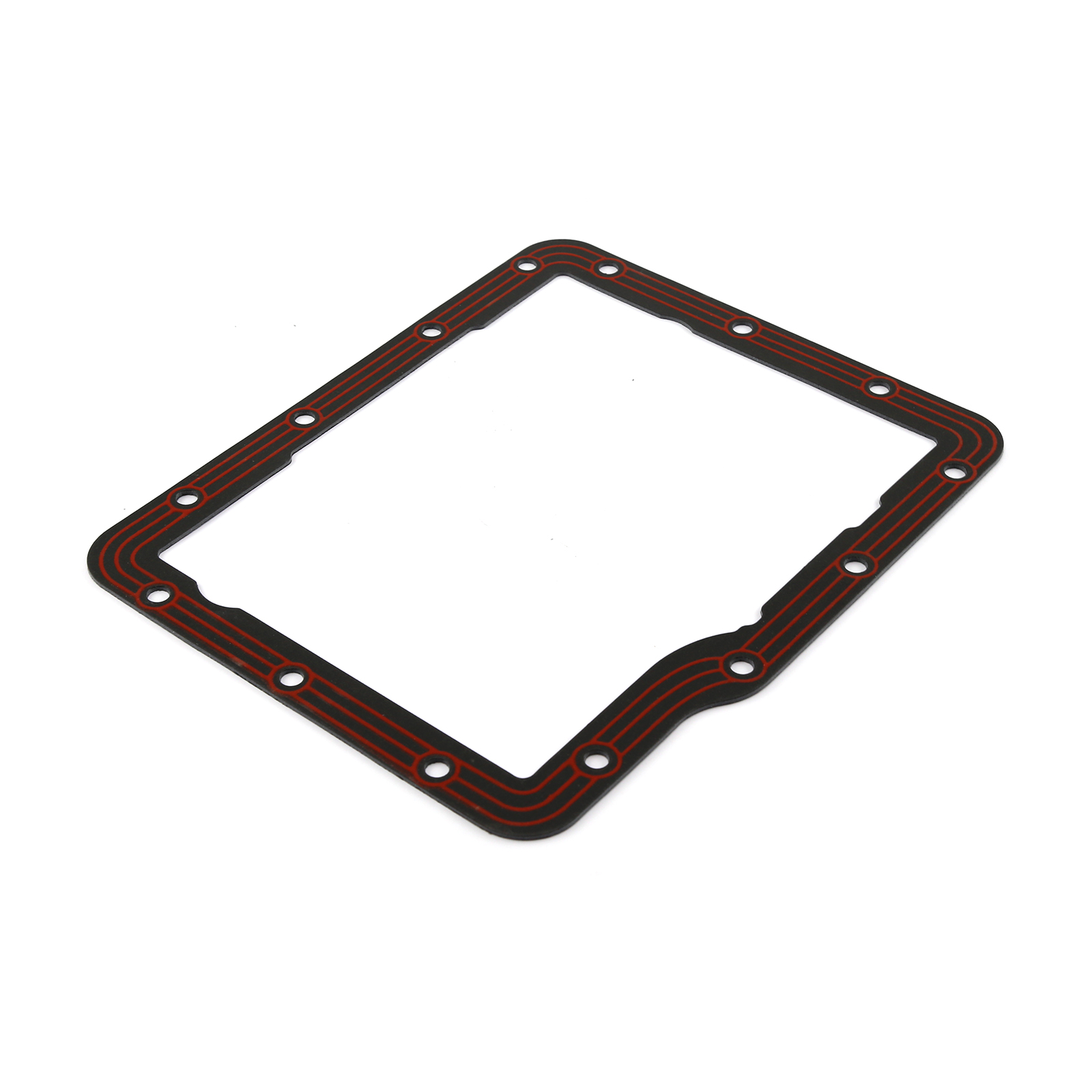 GM Powerglide Transmission Pan Gasket Steel with Rubber
