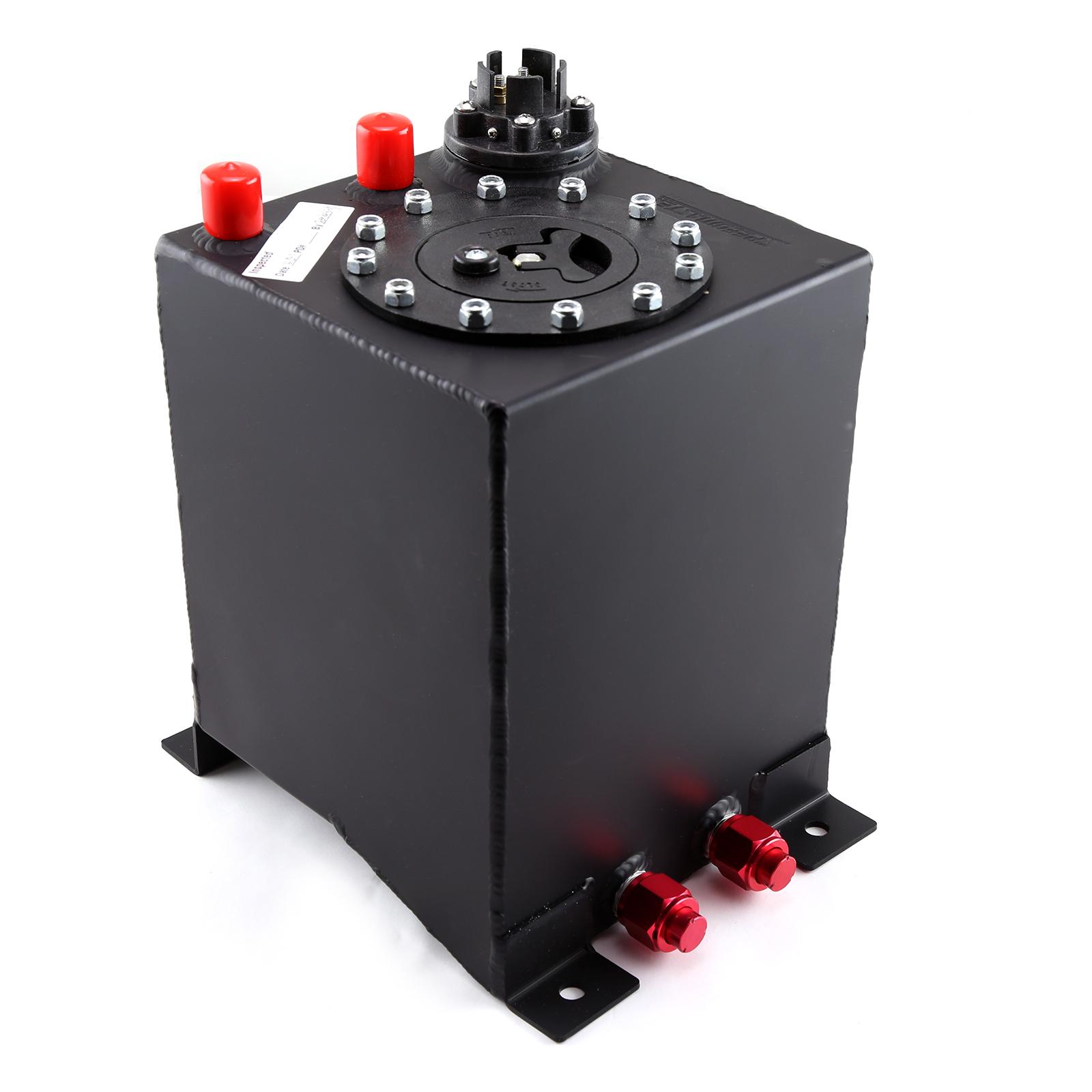 2.5 Gallon / 10 Litre Black Aluminum Fuel Cell w/Sending Unit