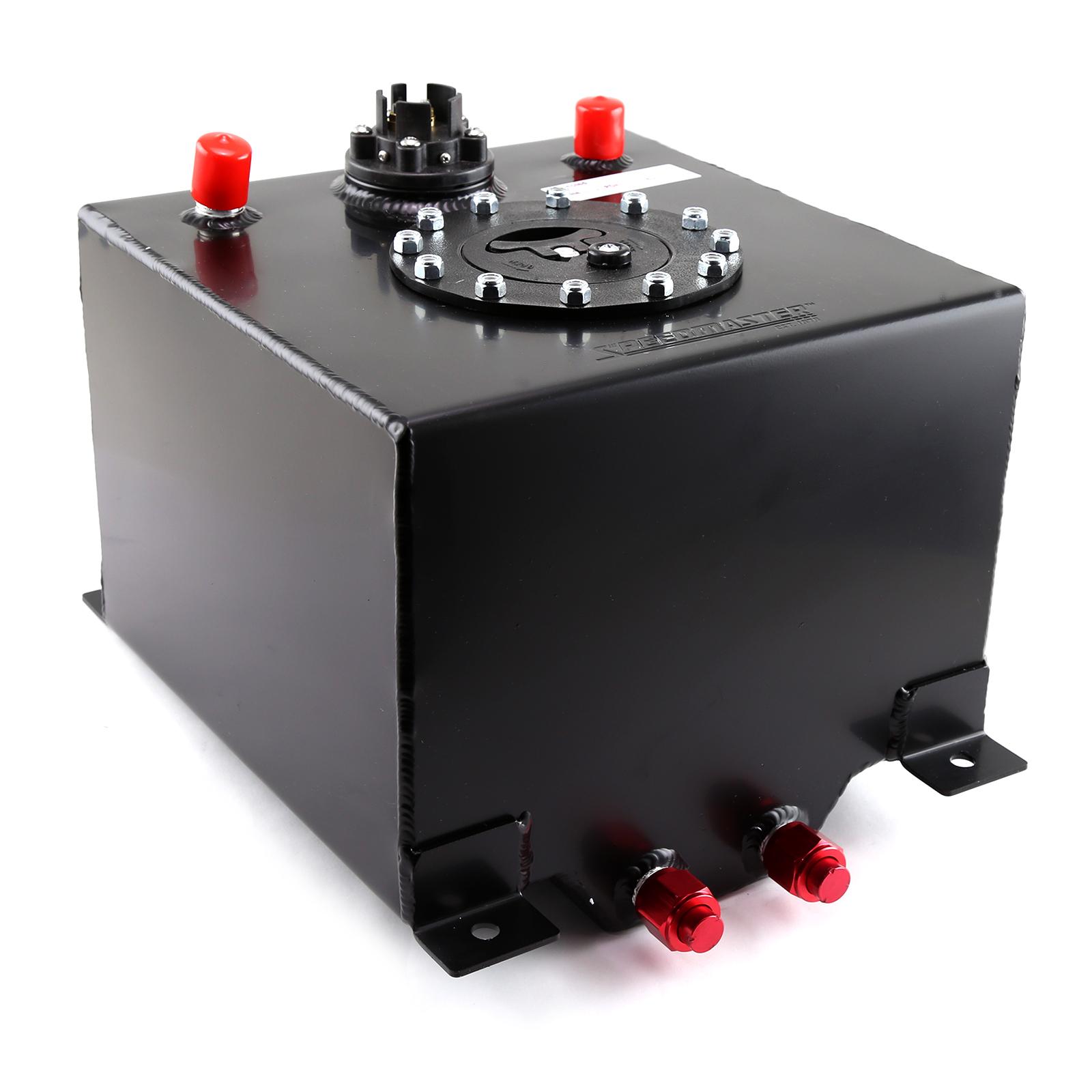 Speedmaster 5 Gallon / 20 Litre Black Aluminum Fuel Cell w/Sending Unit