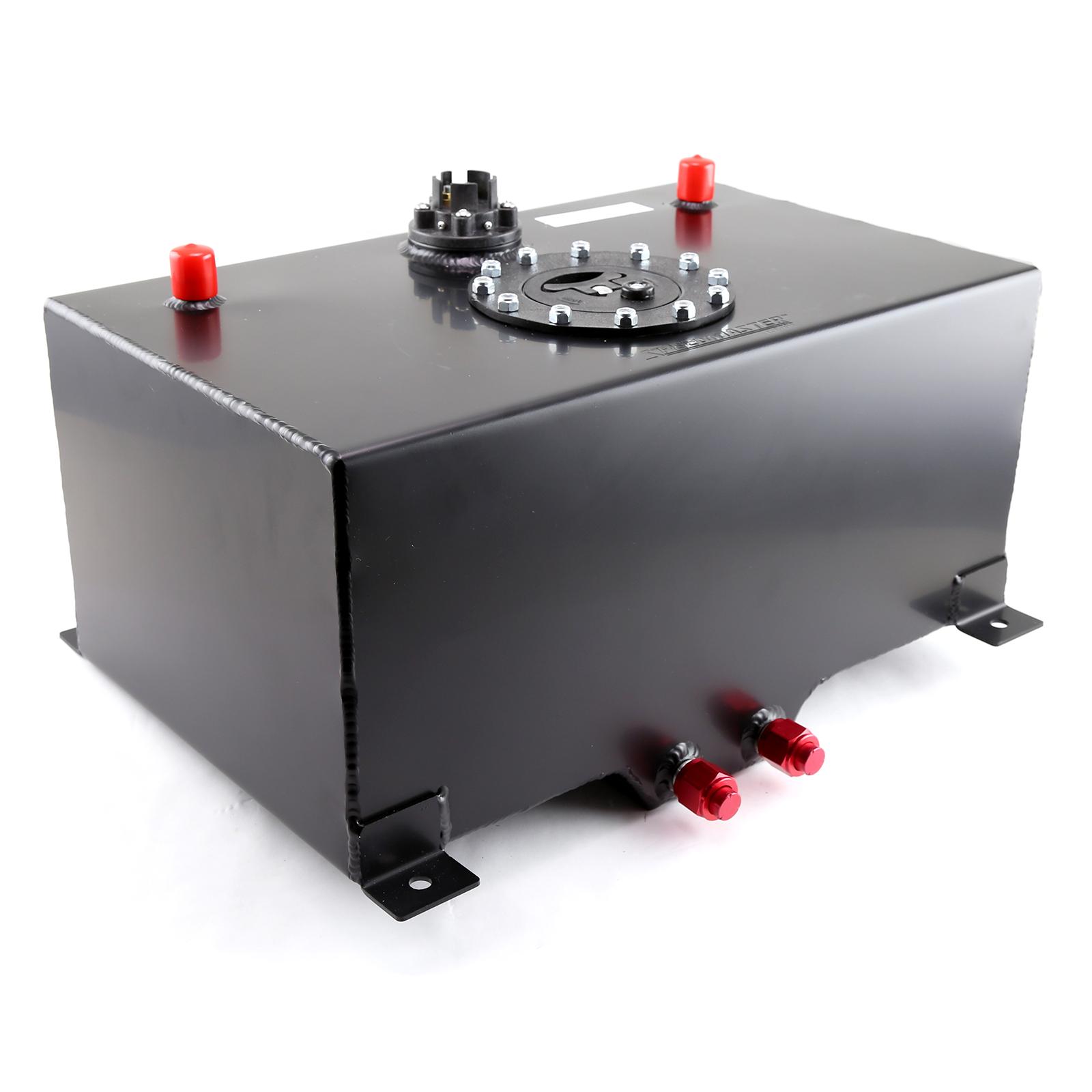 Speedmaster 8 Gallon / 30 Litre Black Aluminum Fuel Cell w/Sending Unit