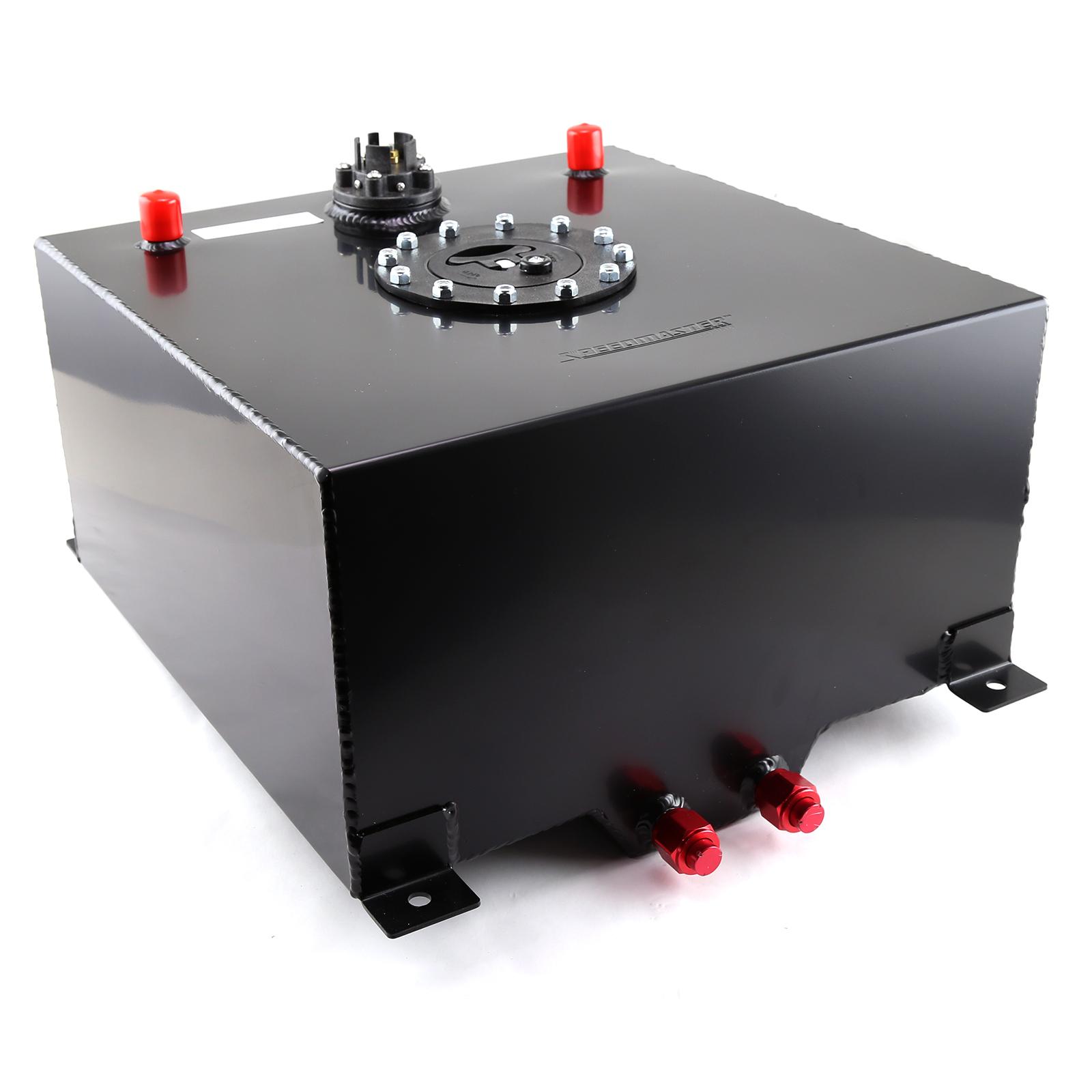 10 Gallon / 40 Litre Black Aluminum Fuel Cell w/Sending Unit