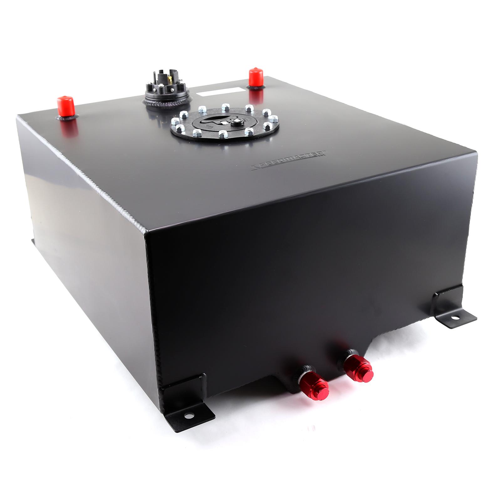 15 Gallon / 60 Litre Black Aluminum Fuel Cell w/Sending Unit