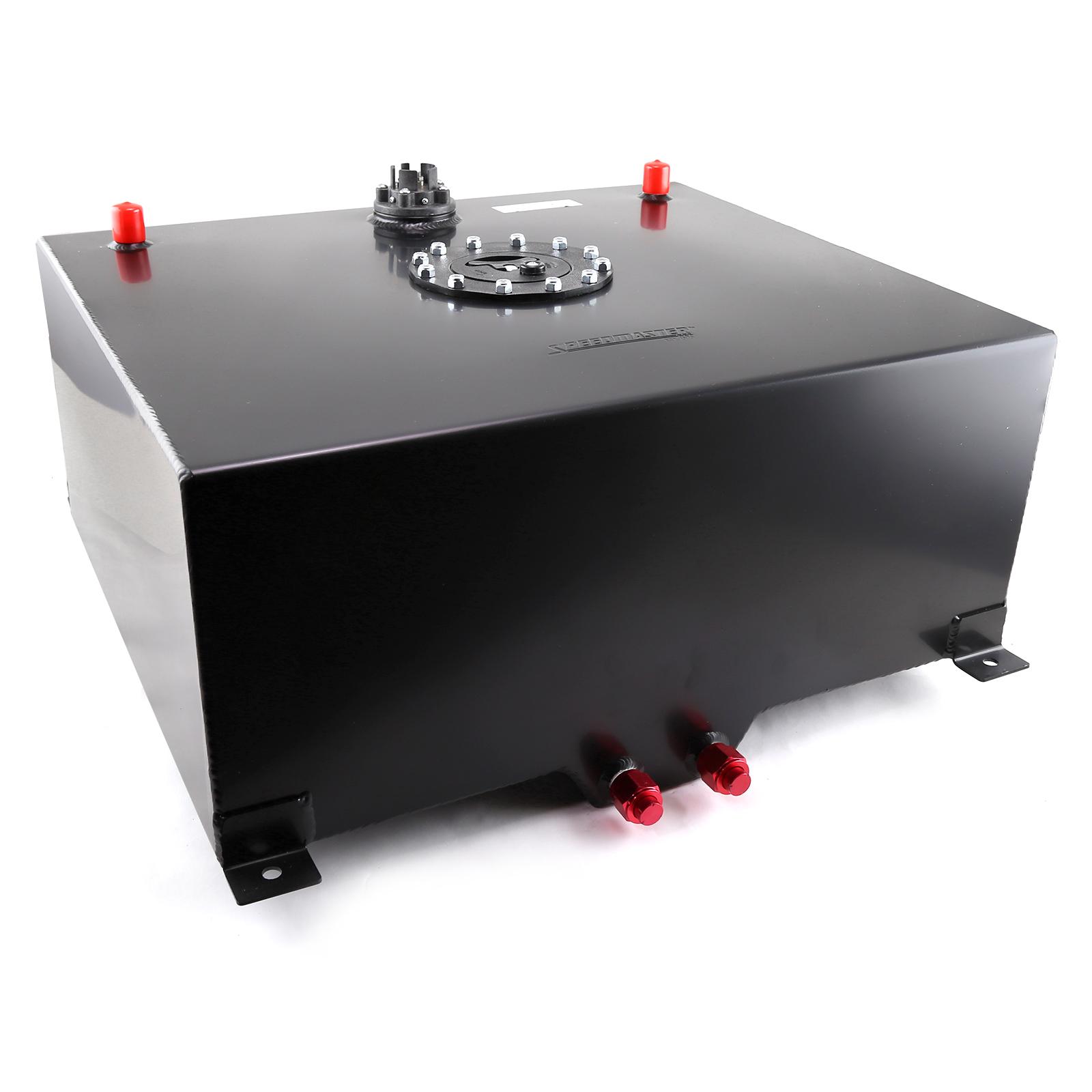 Speedmaster 20 Gallon / 80 Litre Black Aluminum Fuel Cell w/Sending Unit