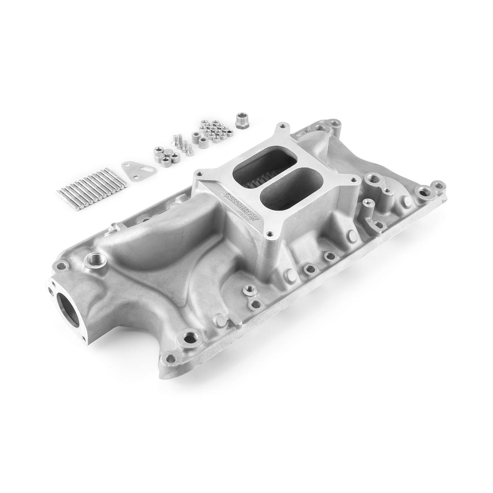 Ford SB 260 289 302 Windsor LowRise Intake Manifold Satin