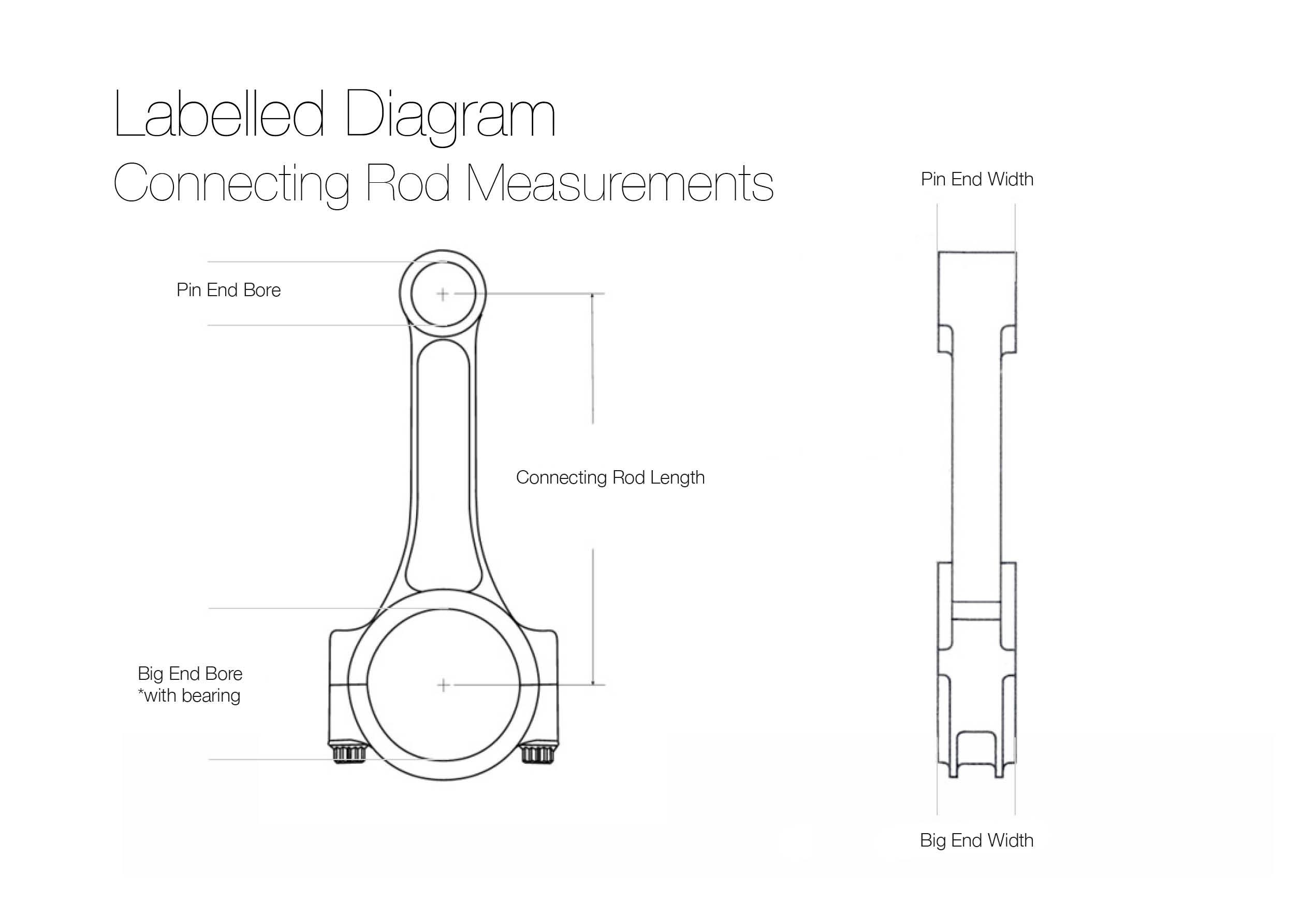 H Beam 6100 2100 927 4340 Connecting Rods Chevy Sbc 350 W Arp Engine Diagram Piston Brand Speedmaster