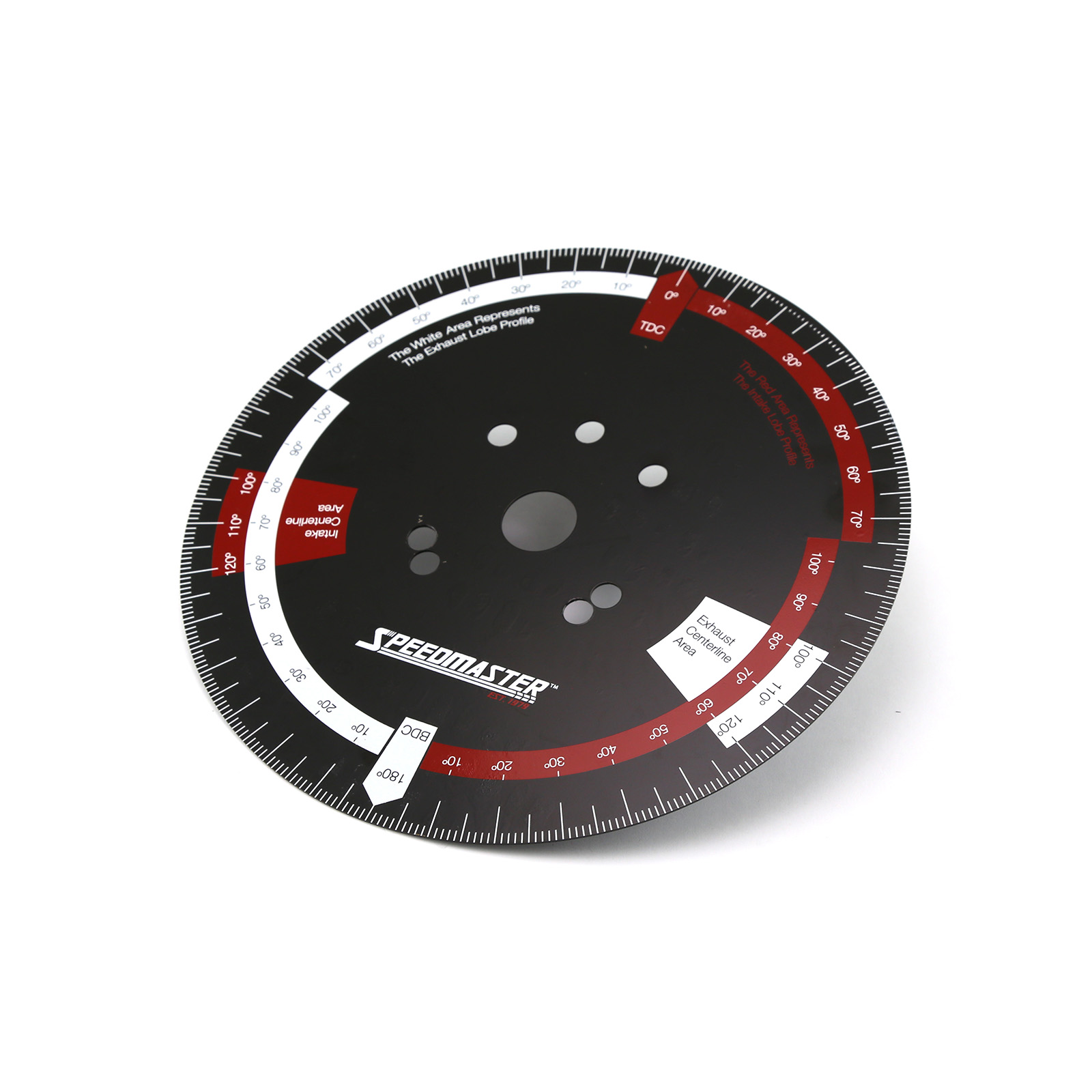 """10"""" Universal Pressed Steel Camshaft Timing Degree Wheel"""